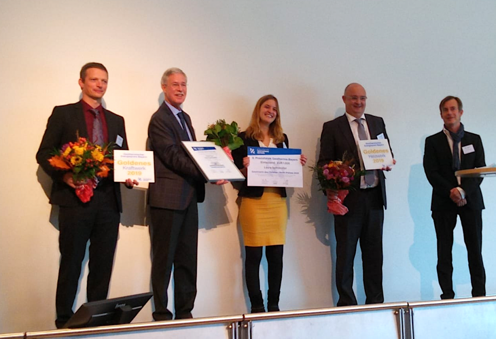 Our partner GEOCOND awarded for climate-friendly heat and power generation